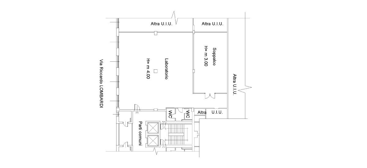 Planimetria Ufficio/Laboratorio 09-C04