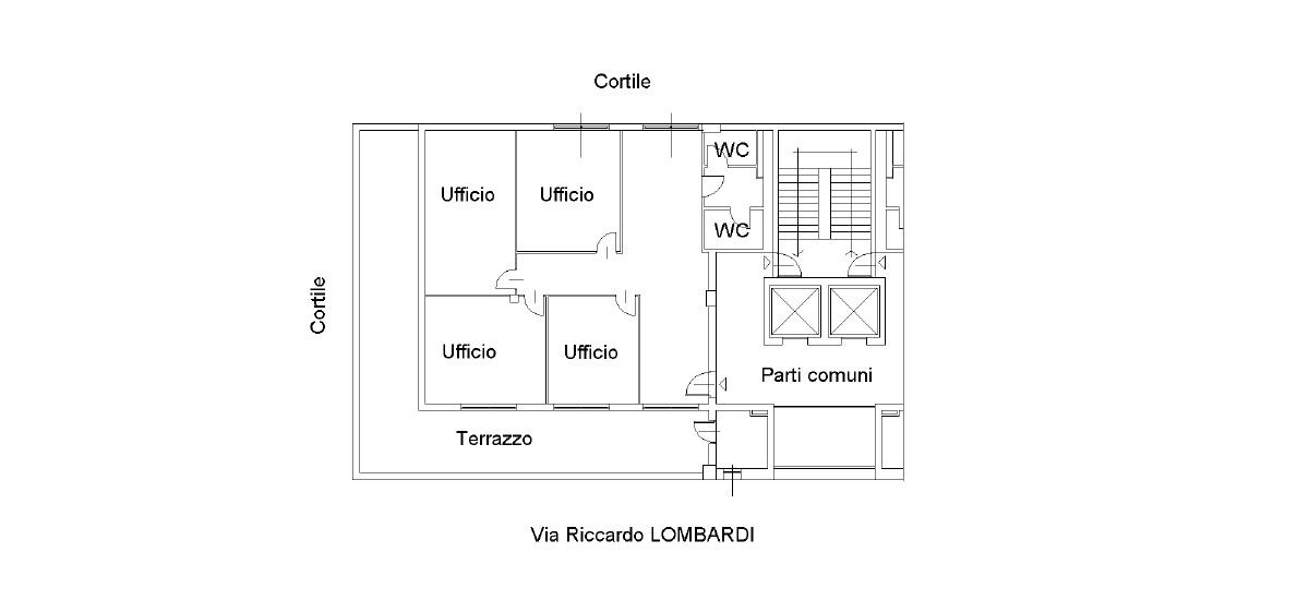 Planimetria ufficio 19/C06