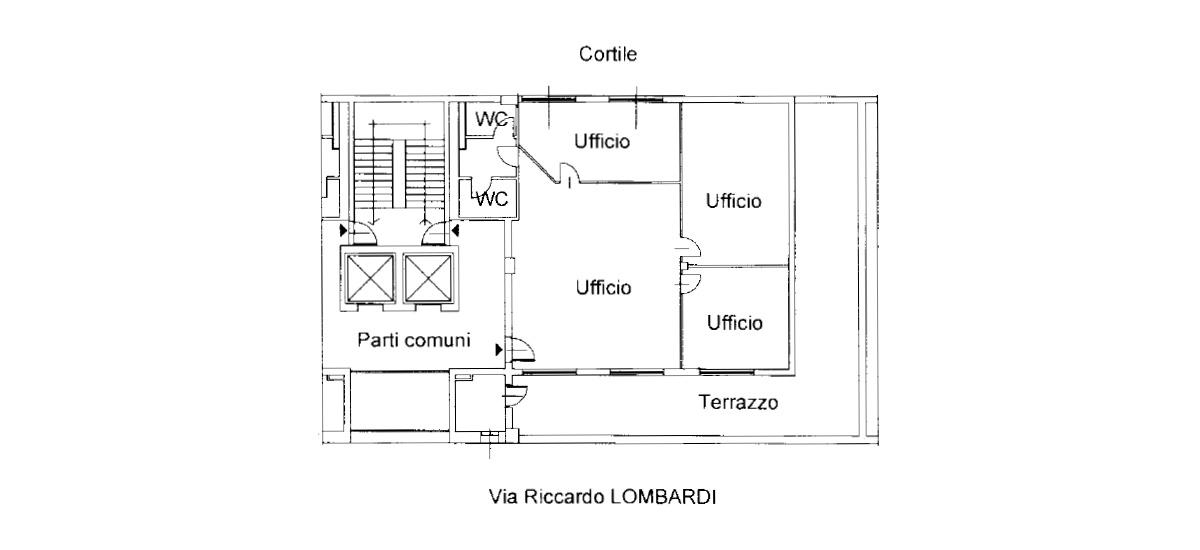 Planimetria ufficio 20/C06
